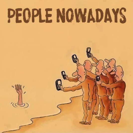 People nowadays